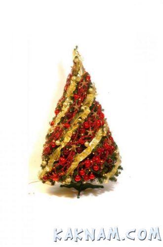 Фото, как украсить елку на Новый Год 2014-7