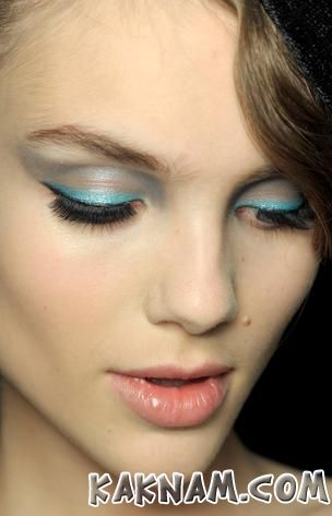 Новогодний макияж 2014-10