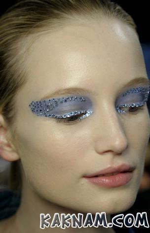 Новогодний макияж 2014-16