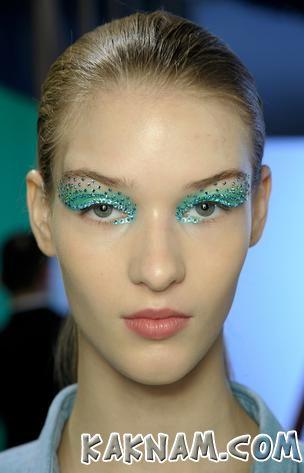 Новогодний макияж 2014-6