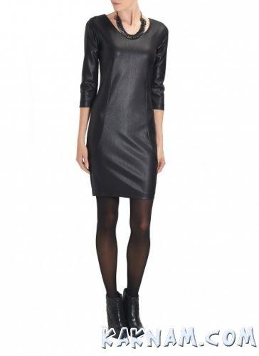 Фото черного мини платья