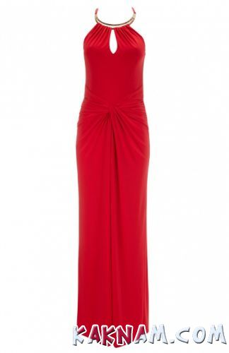 Фото красного вечернего платья