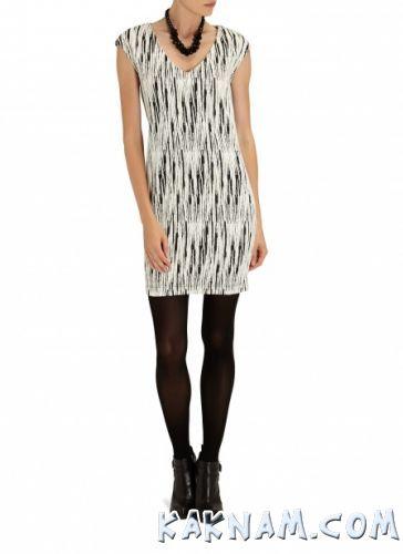 Фото пестрого платья на Новый Год