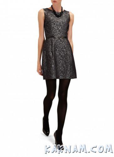 Фото черного платья кокетка
