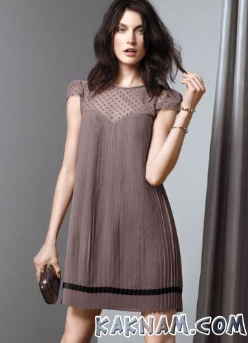 Фото плиссерованного платья на Новый Год