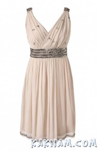 Фото белого нарядного платья