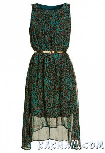 Фото платья с леопардовым принтом