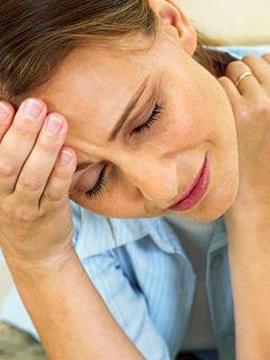 От стресса выпадают волосы