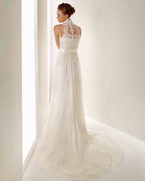 Фото сексуальных свадебных платьев c кружевами от Rosa Clara «Jucar»