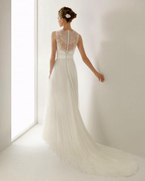 Фото сексуальных свадебных платьев c кружевами от Rosa Clara «Juglar»