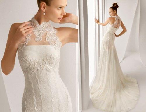 Фото сексуальных свадебных платьев c кружевами от Rosa Clara «Alan»
