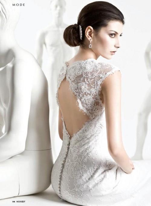 свадебные платья кружевные, фото