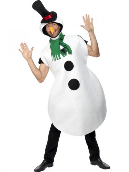 Смешной костюм снеговика для мужчин