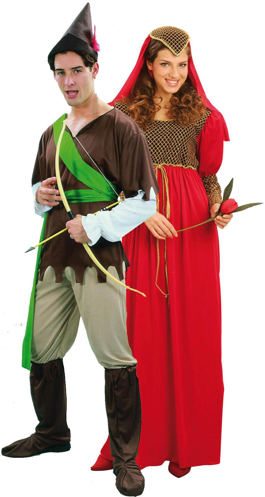 Средневековый костюм для пар