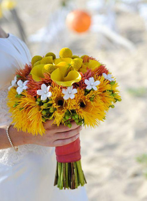 Красивый букет для невесты