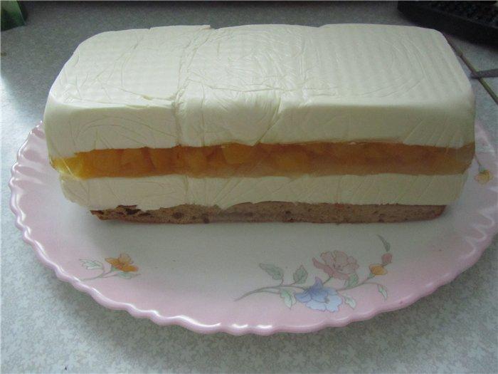 Фото торта с желе