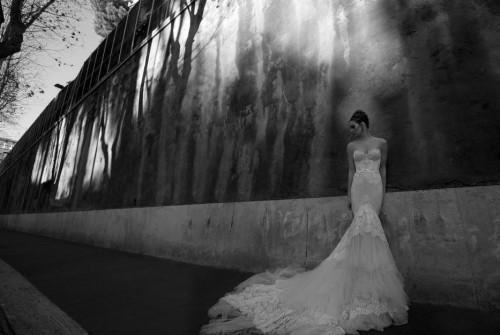Фото свадебного платья из коллекции 2012 Inbal Dror