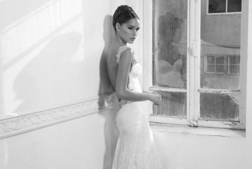 Фото свадебного платья из коллекции 2008 Inbal Dror