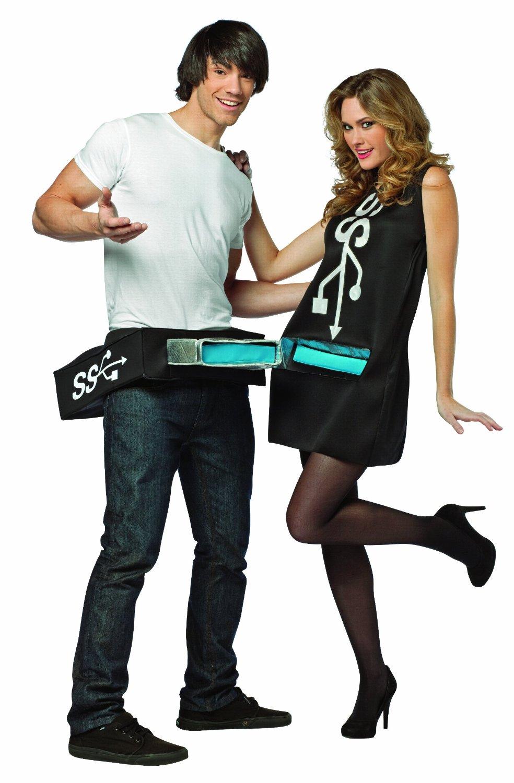 USB-порт и рукоятка - Карнавальный костюмы для пар
