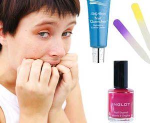 Как востановить обгрызенные ногти